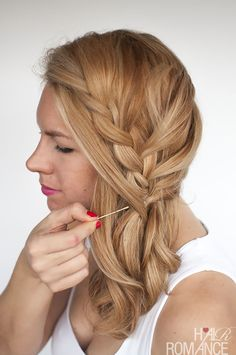 Hair Romance - How to braid with layers in your hair