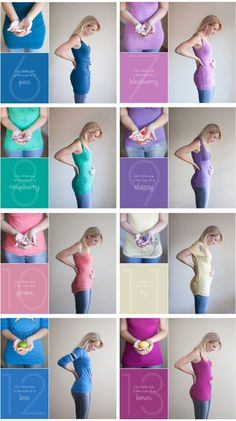 Pregnancy Photography week by week! This is part one of four - she has a pic for weeks 6 through the birth! Maternity Pictures, Baby Pictures, Maternity Timeline, Baby Bump Photos, Baby Planning, Baby On The Way, Everything Baby, Baby Time, Pregnancy Tips