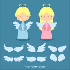 moldes de angeles - Buscar con Google