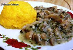 tocanita_ciuperci_1 Grains, Healthy Recipes, Chicken, Cooking, Food, Romanian Recipes, Chef Recipes, Essen, Kitchen