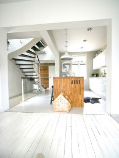Kitchen and stairs A&A at HoMe - Blogi | Lily.fi