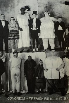 """Congress of Freaks"". What a fabulous photograph. I love this."