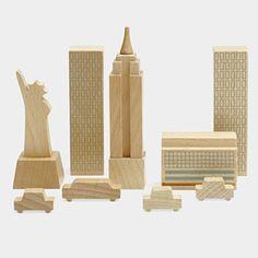 New York in a bag blocks - so fun!