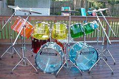 Drums Girl, Drums Studio, Heavy Metal, Drum Chair, Drum Accessories, Ludwig Drums, Music Machine, Vintage Drums, Jem And The Holograms