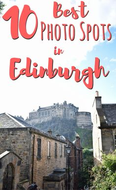 There are many places in Edinburgh, Scotland, worth photographing. In this guide we list our top spots so you can explore the city like a pro! #edinburgh #scotland #travel #traveltips #photography #europe