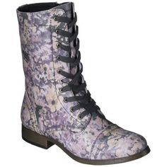 Women's Mossimo Supply Co. Khalea Combat Boots - Assorted Colors