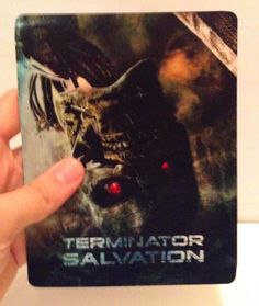 Terminator Salvation Magnet 3D lenticular Flip effect Rounded Corners