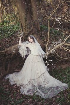 Full photoshoot http://www.rocknrollbride.com/2012/03/modern-miss-havisham-at-the-photography-farm/ http://www.the-couture-company.co.uk/a-haunting-decaying-miss-havisham-shoot-photographed-by-assassynation/