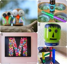 Learn with Play at home: 10 Awesome Homemade Ideas for Kids