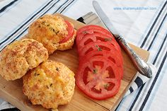 Savory scones with cheese and sweet corn
