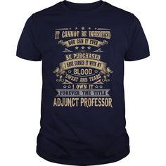 ADJUNCT PROFESSORADJUNCT PROFESSORjob title