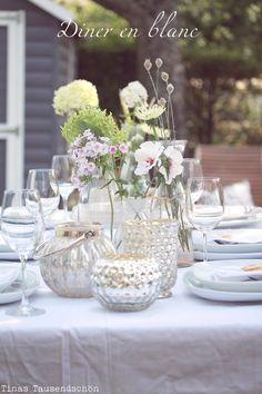 Tina's Tausendschön: Diner en blanc, White Dinner oder ein Fest mit unfassbar tollen Gästen!