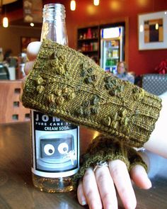 Ravelry: TheSexyKnitter's Woodland Fingertips