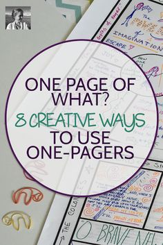 Discover the best ways to use one-pagers in your classroom and how they support critical and creative thinking. Teaching Literature, Teaching Writing, Teaching Strategies, Avid Strategies, Teaching Themes, Kindergarten Writing, Literacy, 5th Grade Reading, Middle School Reading