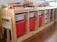 Ikea Trofast, Toy Storage, Kid Spaces, Baby Room, Playroom, Diy Furniture, Baby Kids, Kids Room, Blog