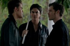 """'The Vampire Diaries' 100 Quotes: Damon Salvatore's Biting Sense of Humor - """"How many desiccated hybrids does it take to screw in a light bulb?"""""""