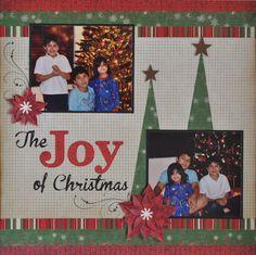 The Joy of Christmas - Scrapbook.com