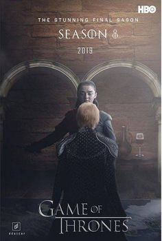 GoT Game of Thrones final Season 8 HBO advertising poster for tv series. Arya Stark and Cersei Lannister. Game Of Thrones Artwork, Game Of Thrones Poster, Watch Game Of Thrones, Game Of Thrones Fans, Game Of Thrones Series, Breaking Bad, Medici Masters Of Florence, Game Of Thrones Merchandise, Game Of Thones