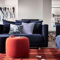Un canapé 2 places en velours spécial cocooning