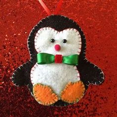 Image result for Handmade Felt Ornaments Christmas