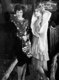 """Joan Crawford and Anita Page in """"Our Modern Maidens"""", a silent drama film directed by Jack Conway, 1929."""
