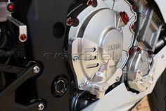 #yamaha R1 Clutch case guard evotech Evotech protezione frizione
