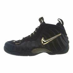 new concept 85f55 b0dde (eBay Sponsored) Nike Men s Air Foamposite PRO  Black Metallic Gold  624041