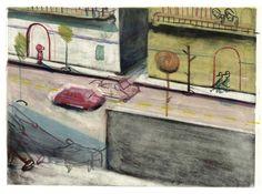 Travaux de gravure de Yann Kebbi