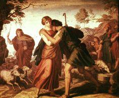 Jacob And Rachel by Julius Schnorr von Carolsfeld