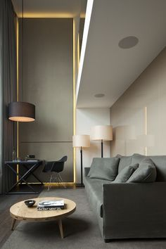 Modern chic.. Hotel Bedroom Interior Modern Contemporary Design Inspiration / Hotel Room Design byCOCOON.com