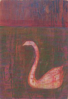 Moody Swan by Melissa Averinos