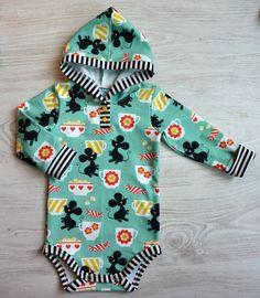 Kummilahja vol.2 + DIY Nappilista huppariin - Punatukka ja kaksi karhua Sewing Baby Clothes, Baby Sewing, Sew Baby, Vol 2, Onesies, Baby Boy, Kids, Inspiration, Tutorials
