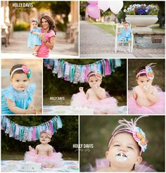 Cake Smash Portraits | Holly Davis Photography