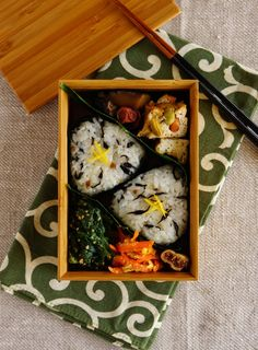 Japanese Riceball Bento おにぎり弁当┃ R journal