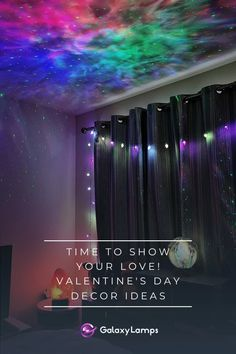 Valentine's Day Decor Ideas: Celebrate Your Love – Galaxy Lamps Romantic Decorations, Bedroom Designs For Couples, All Galaxies, Beautiful Bouquet Of Flowers, Window Clings, Modern Bedroom Design, Unique Lamps, Pink Paper, Luxury Decor