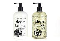 E. Barrett & Co. Rosemary Kitchen Soap/Lotion Set Meyer Lemon Soap/Lotion Set