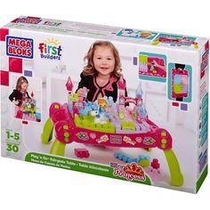 Mega Bloks Lil' Princess Play 'n Go Fairytale Table Play Set - Walmart.com
