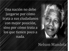 Piensa distinto pero piensa ........................ y con el corazón: La insultante hipocresia de Occidente ante Nelson Mandela