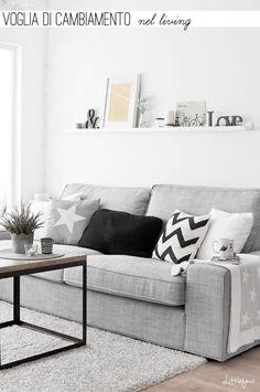 Home Shabby Home | Arredamento, interior, craft: Voglia di cambiamento nel living