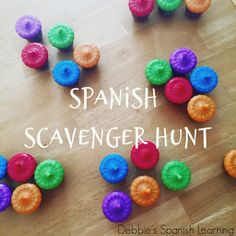 {Affiliate Links Used} I am currently setting up for my summer camps and was looking for some extra activities to do with my more a. Classroom Scavenger Hunt, Scavenger Hunt List, Scavenger Hunt Clues, Water Games For Kids, Indoor Activities For Kids, Activities To Do, Summer Activities, Spanish Games, Spanish Lessons