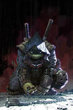 TMNT: The Last Ronin #1 cover by Kael Ngu * Teenage Ninja Turtles, Ninja Turtles Art, Comic Books Art, Comic Art, Character Concept, Character Design, 2d Character, Arte Do Harry Potter, Shadow Warrior