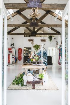 This Cult Australian Fashion Label's New Byron Bay Concept Store Is a Boho Dream via @MyDomaineAU