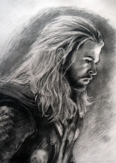 Thor. Wow... That is a really good drawing...