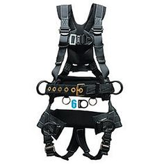 Elk River Peregrine LE Harness, Platinum Series. Tower Climber, Elk River, Peregrine, Safety And Security, Climbing, Legs, Connect, Steel, Shoulder Straps