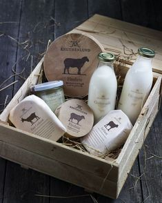 Nice branding for Knuthenlund Estate organic farm in Holland