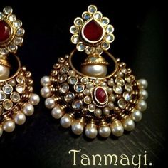 Fulfill a Wedding Tradition with Estate Bridal Jewelry Pakistani Jewelry, Indian Wedding Jewelry, Bridal Jewelry, India Jewelry, Ethnic Jewelry, Antique Jewelry, Traditional Indian Jewellery, Indian Earrings, Tips Belleza