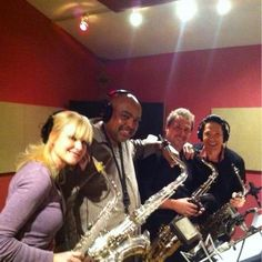 Some of my favorite sax artists...Mindy, Gerald, Richard and Dave...