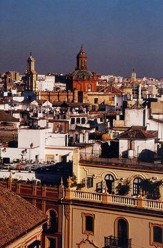 Barrio Santa Cruz in Seville, Spain by Irene Suchocki, photographer -