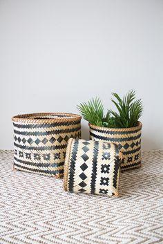 Trang Baskets - Set Of 3