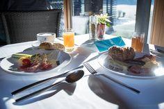 in paradise Geniesser- und Kuschelhotel Gams Paradise, Tables, Breakfast, Mesas, Morning Coffee, Heaven, Morning Breakfast, Heavens